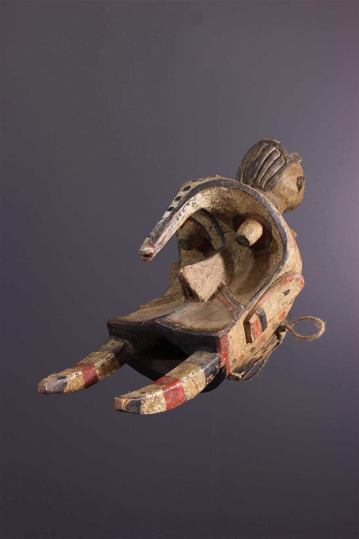 Ogbodo Enyi Mask - Tribal art