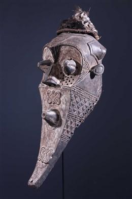 Tribal art - Funeral Mask Inhuba Kabongo Kuba