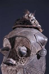 Masque africainFuneral Mask Inhuba Kabongo Kuba