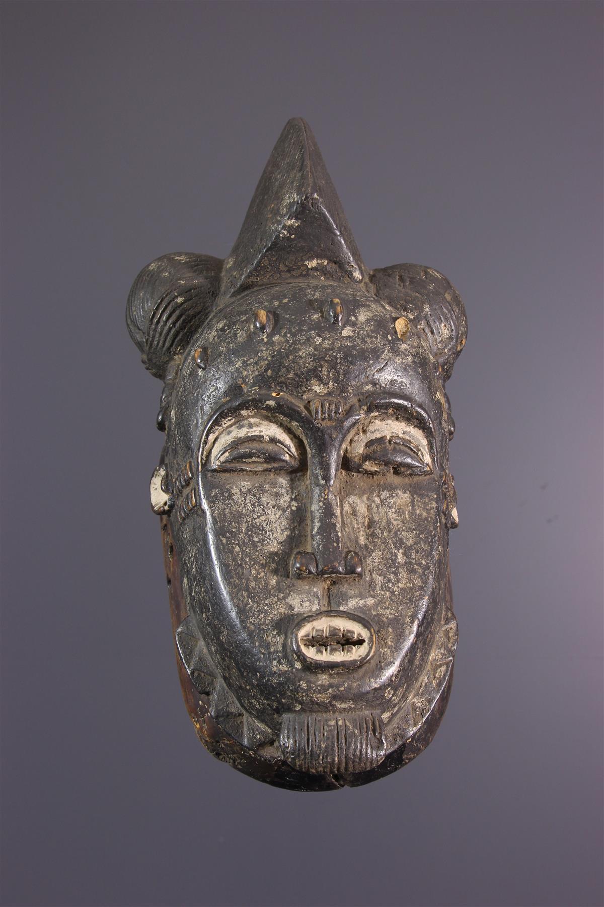 Baoule Mask - Tribal art