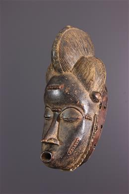 Tribal art - Baule Ndoma mask