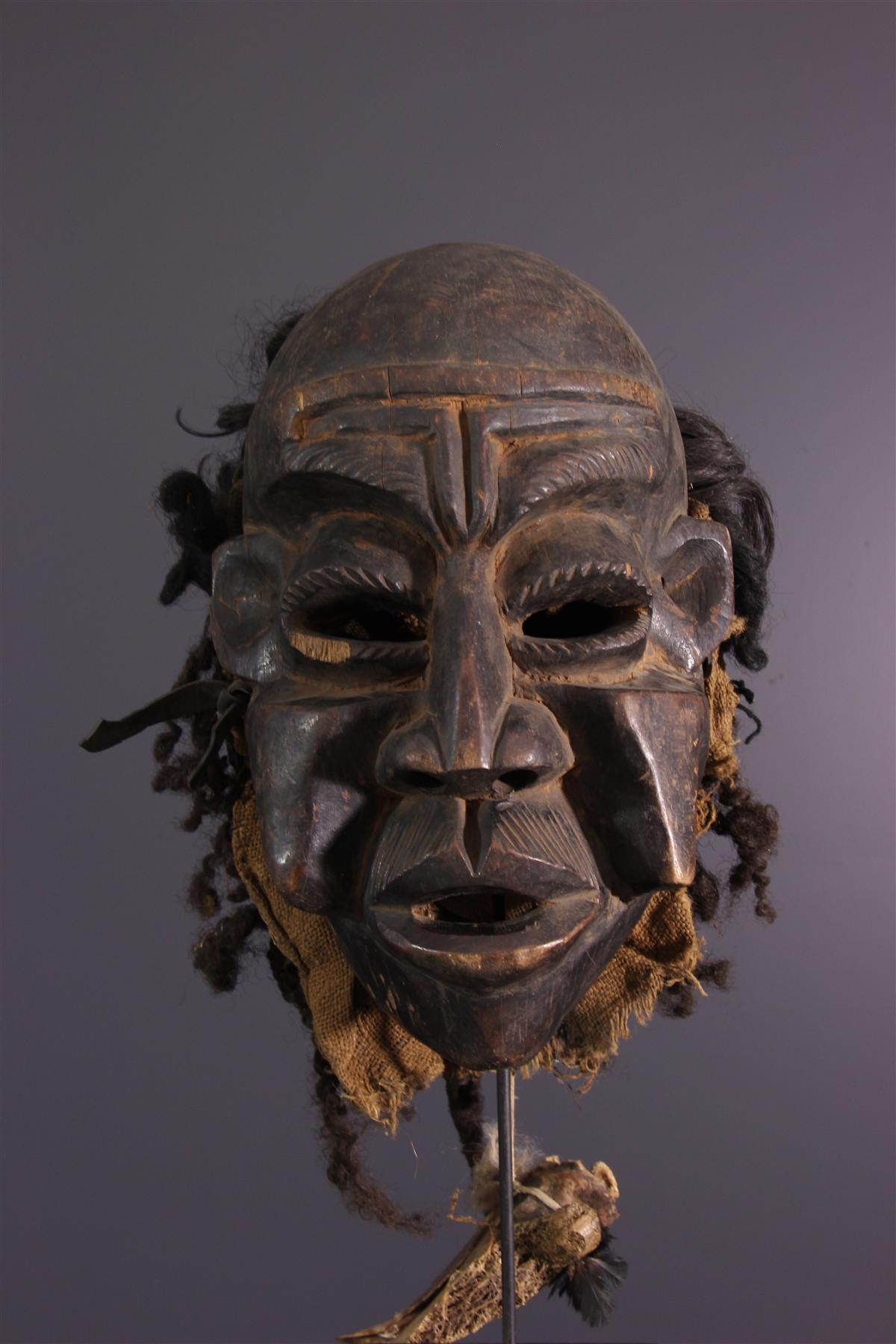 Bamileke Mask - Tribal art