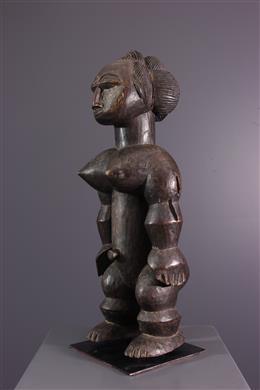 Female statue Attié Nkpasopi