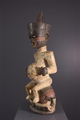 Tribal art - Crest Mask Kuba Ishyeen imaalu