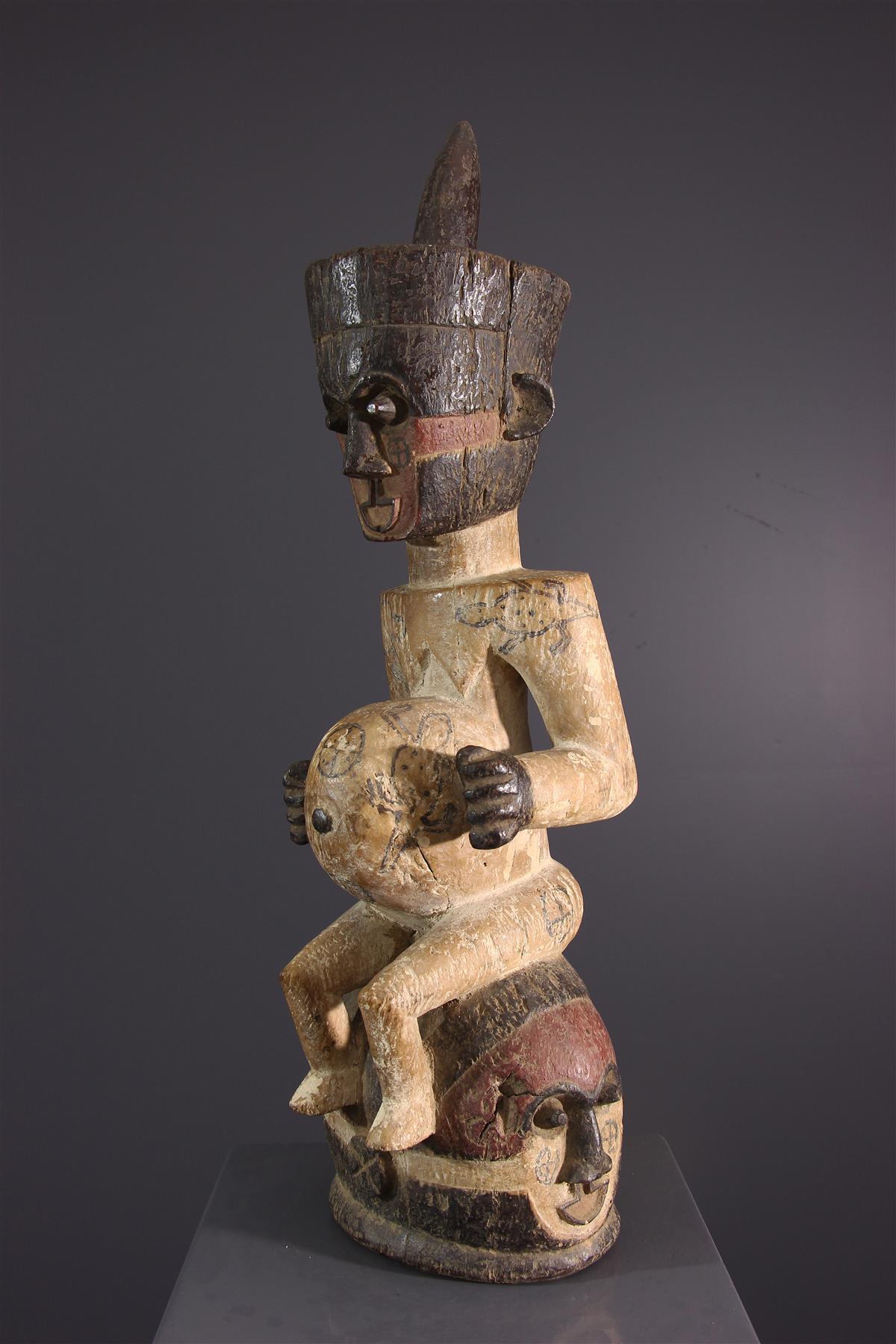 Kuba mask - Tribal art