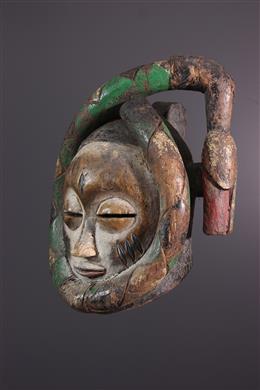 Tribal art - Gelede Yoruba mask