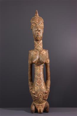 Statue polychrome Dengese, Ndengese
