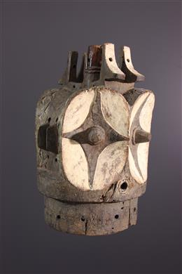 Tribal art - Bembé hem mamy mask