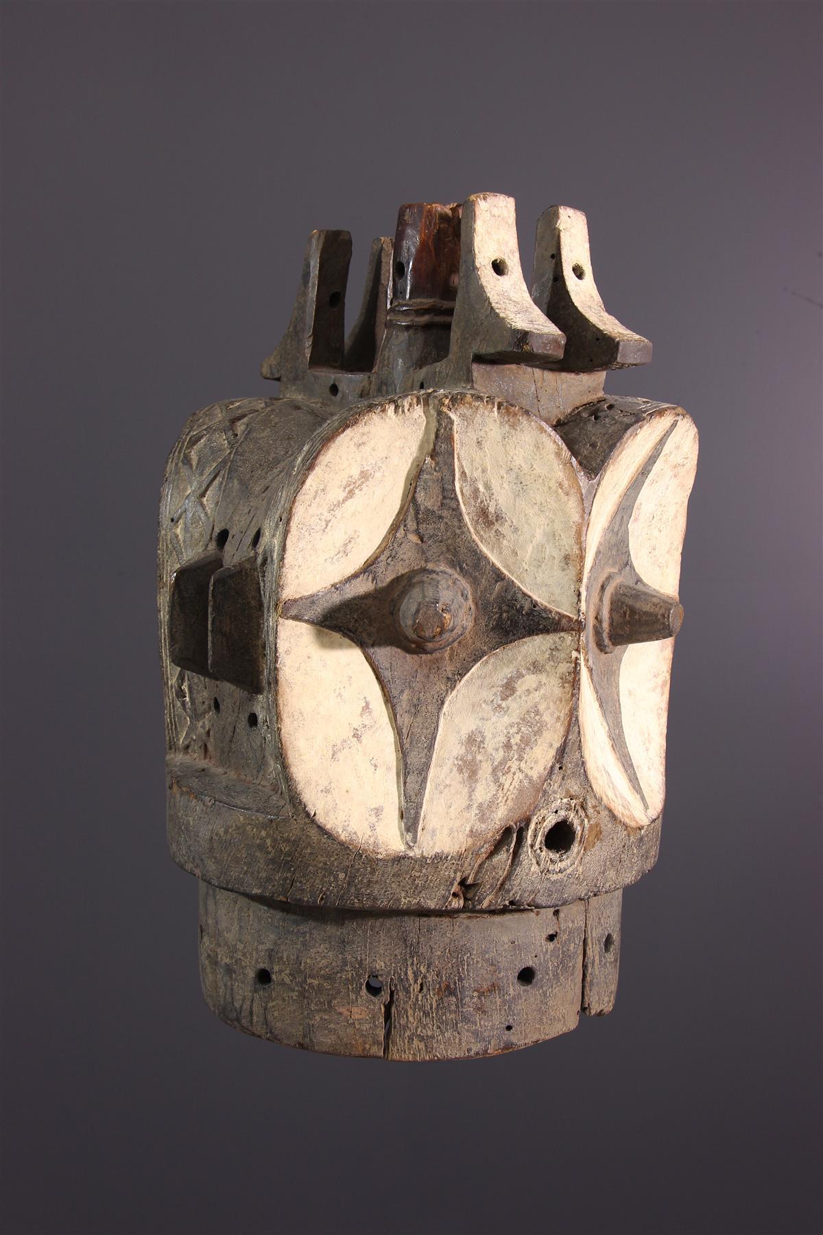 Bembé Mask - Tribal art
