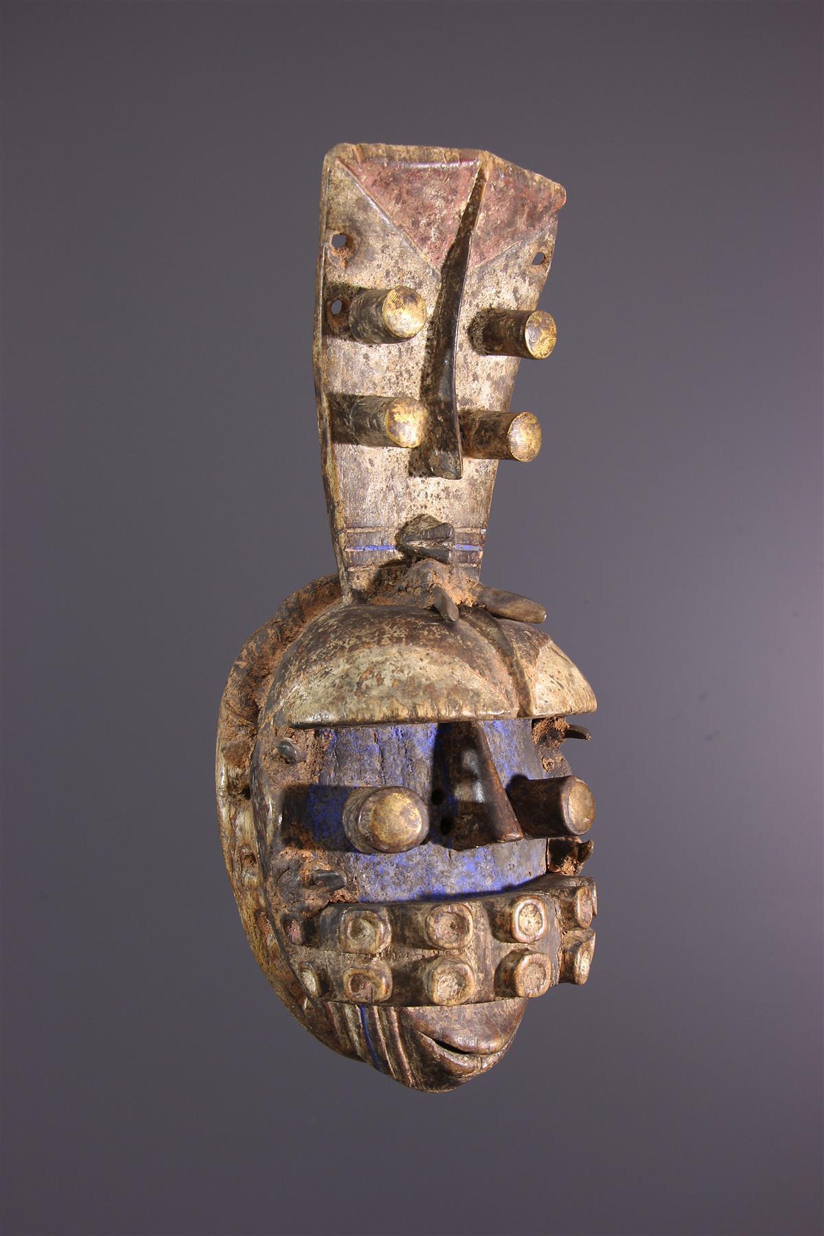 Masque Grebo - Tribal art