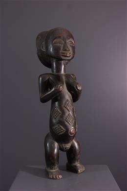 Tribal art - Luba Mikisi statue