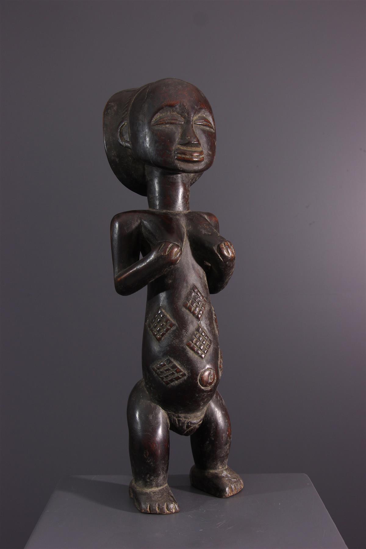 Luba statue - Tribal art