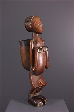 Nana Yakoma Ovimbundu anthropomorphic tobacco pot
