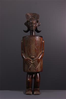 Chokwe Anthropomorphic Box