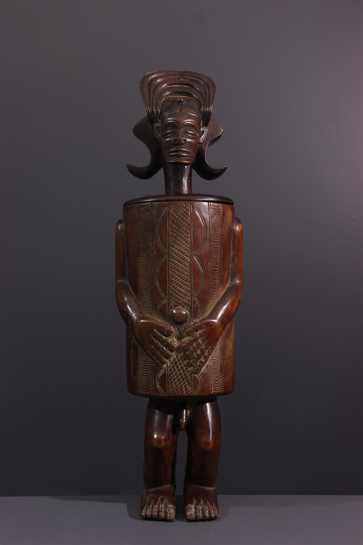 Tschokwe Box - Tribal art