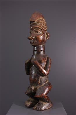 Statuette container Kumbu di Mpemba