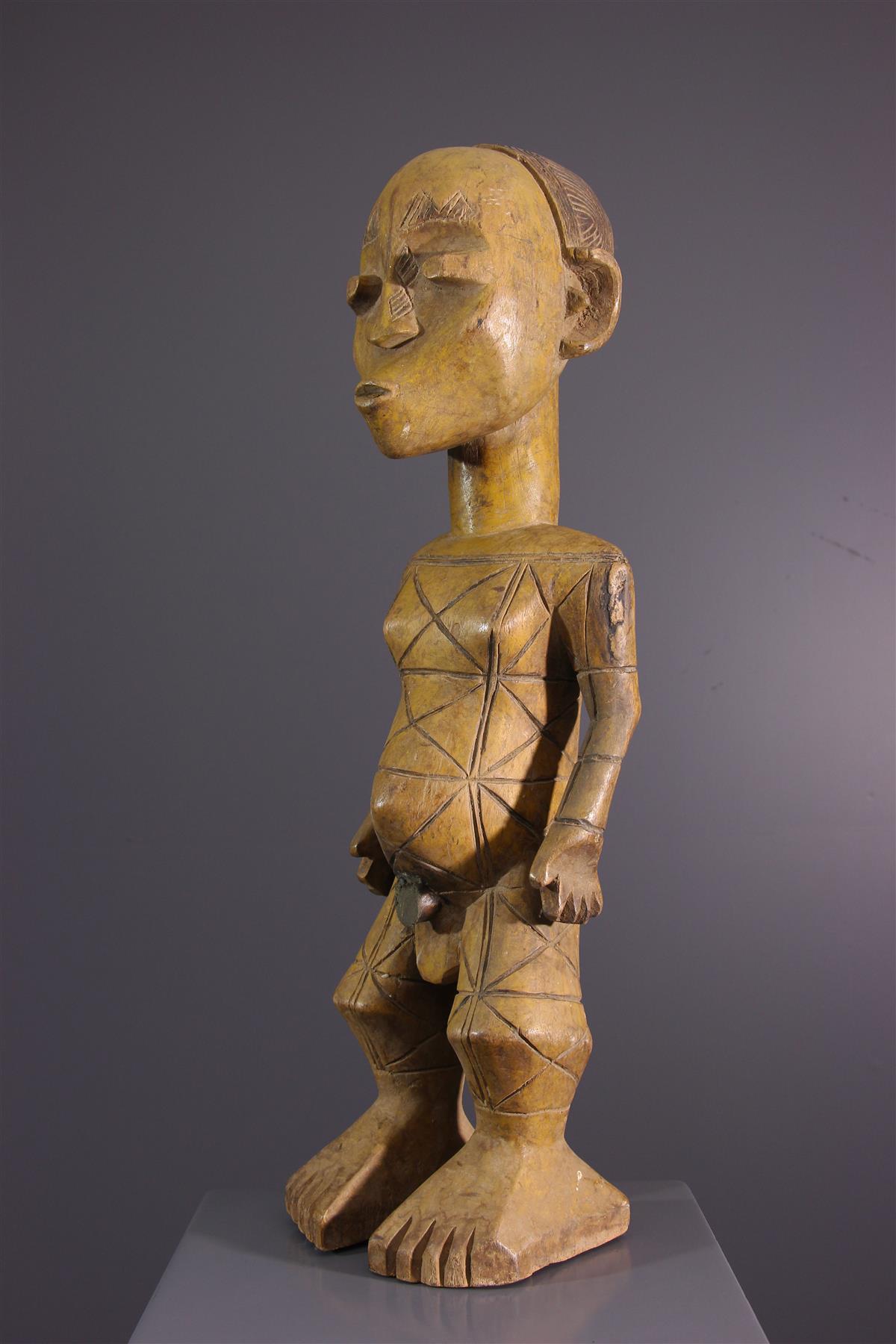 Statue Mangbetu - Tribal art