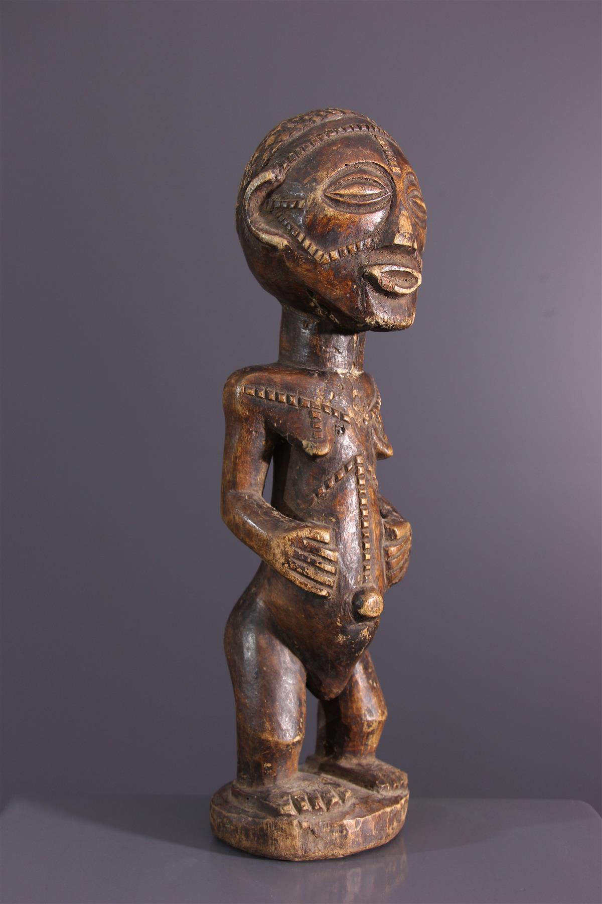 Statue Tabwa - Tribal art