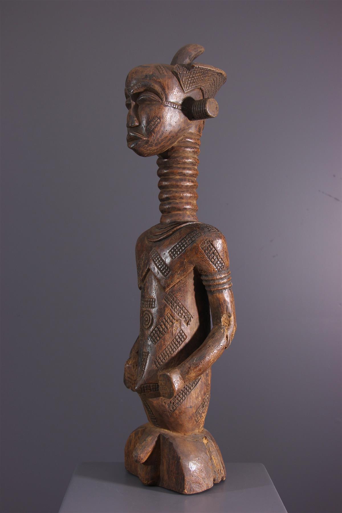 Statue Ndengese - Tribal art