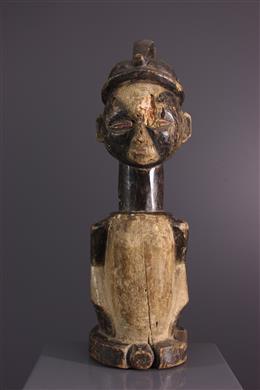 Tribal art - Reliquary Keeper Galoa Okukwé