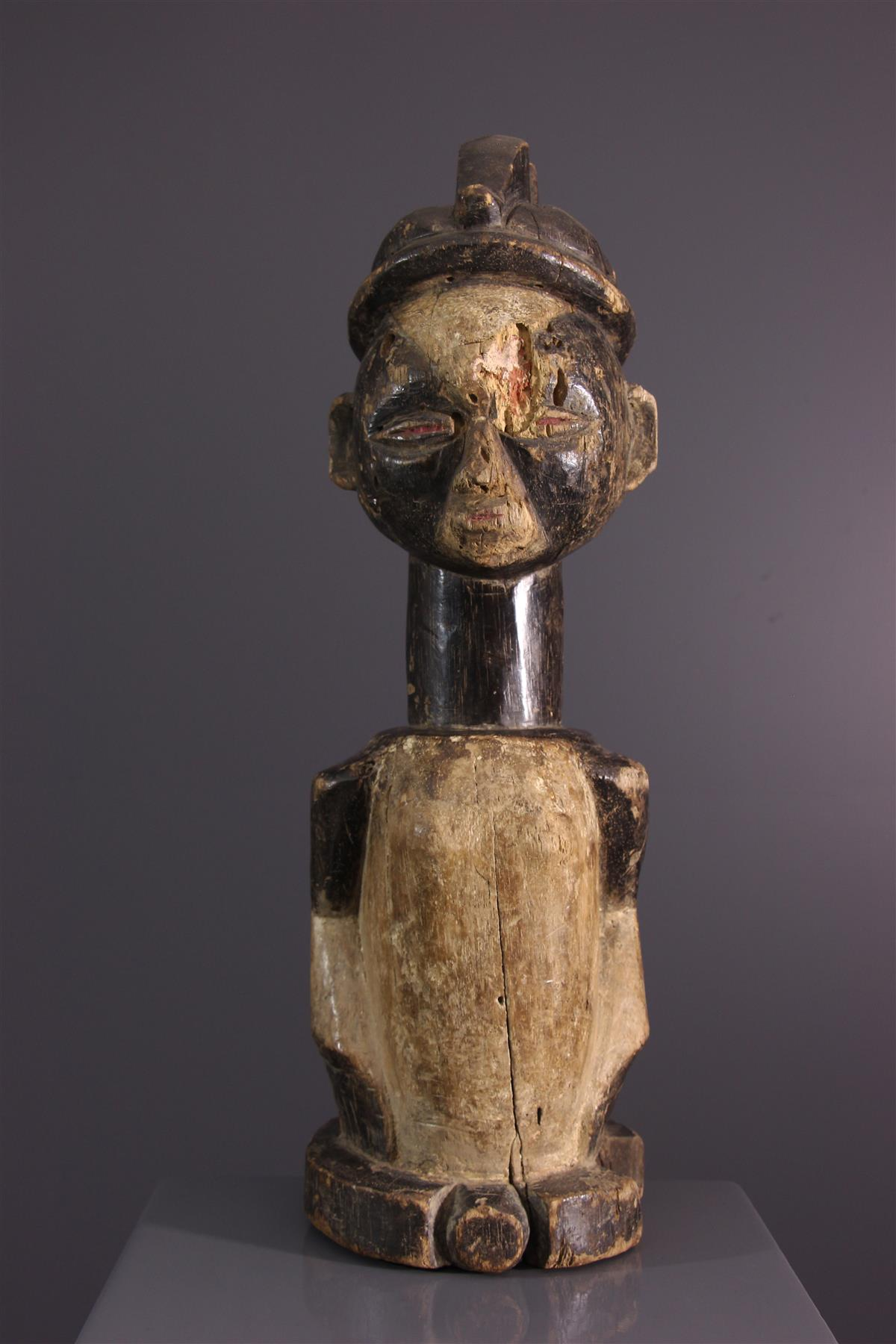 Statue Galoa - Tribal art