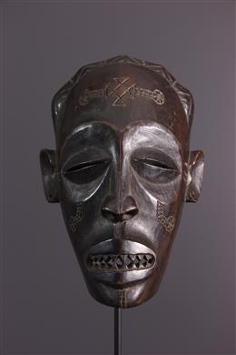 Tribal art - Masque Chokwe Mukishi wa Pwo