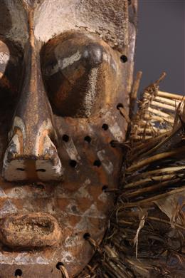 Tribal art - Kete Kuba Mask