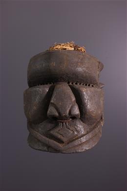 Tribal art - Masque Bwoom Bushoong Cuba
