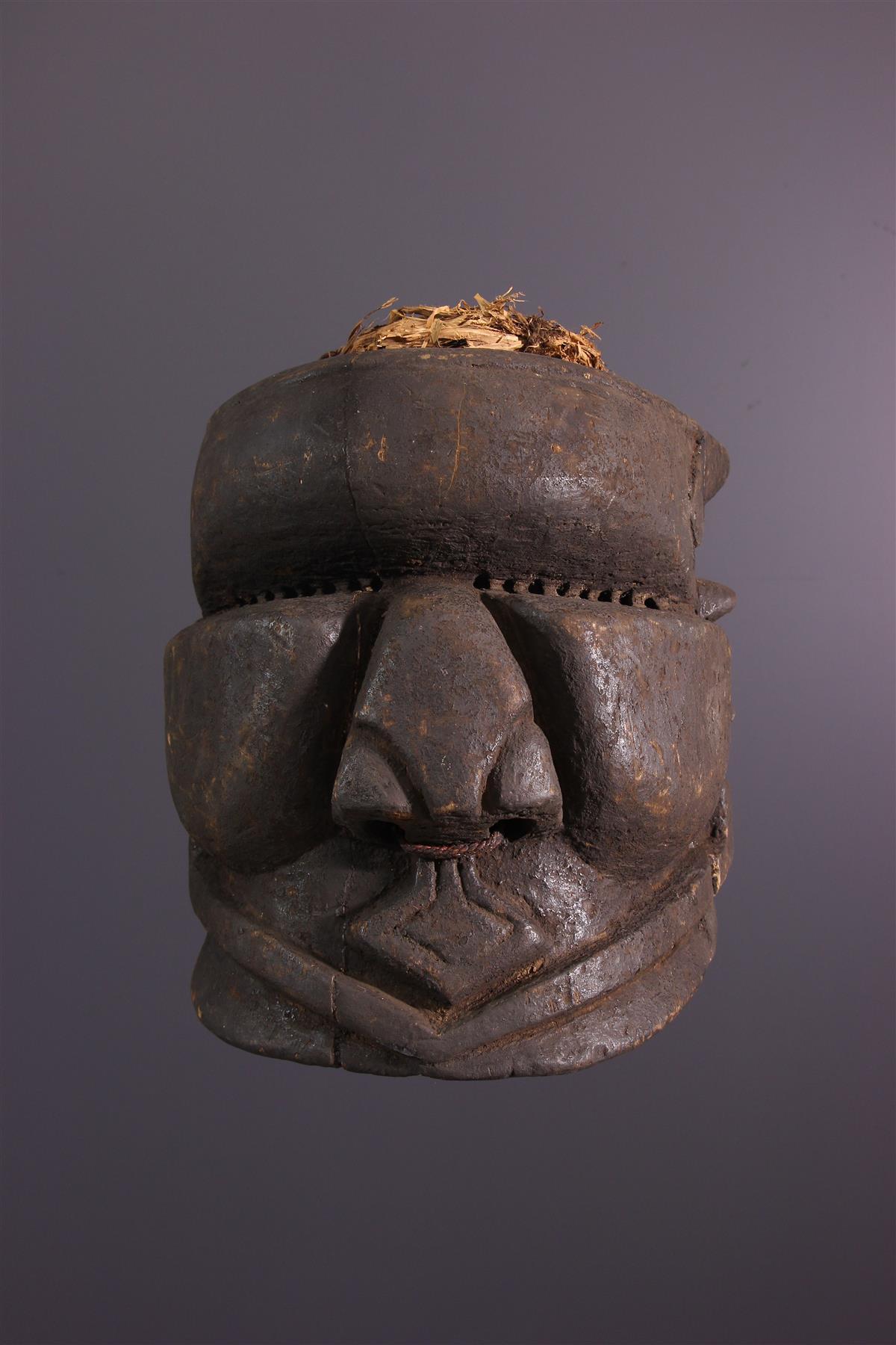 Bwoom Mask - Tribal art