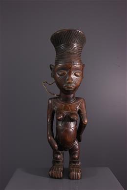 Tribal art - Female figure Nebeli Mangbetu