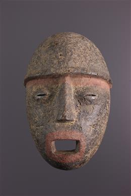 Tribal art - Luvale/Luchasi Mask