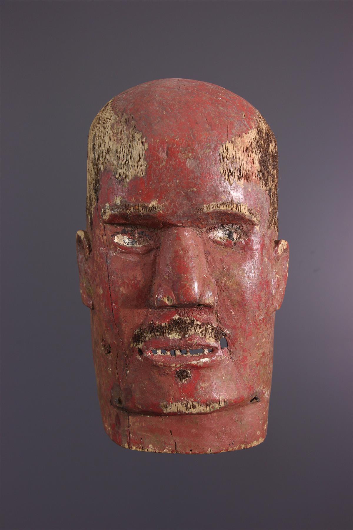 Tanzania Mask - Tribal art