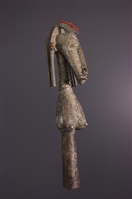 Puppet bust Markha Bambara Mani