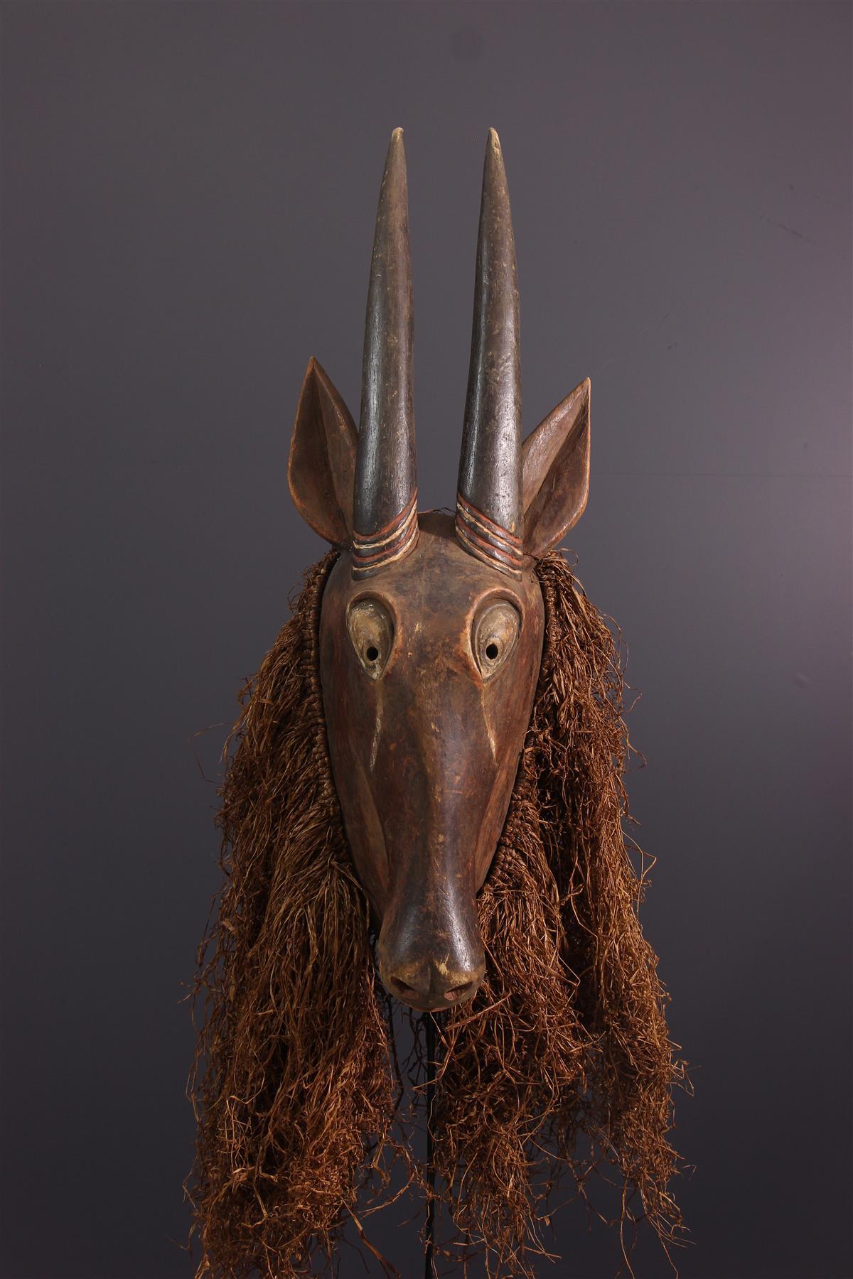 Yaka Mask - Tribal art