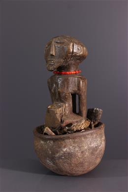 Tribal art - Ritual statuette Songye Boanga