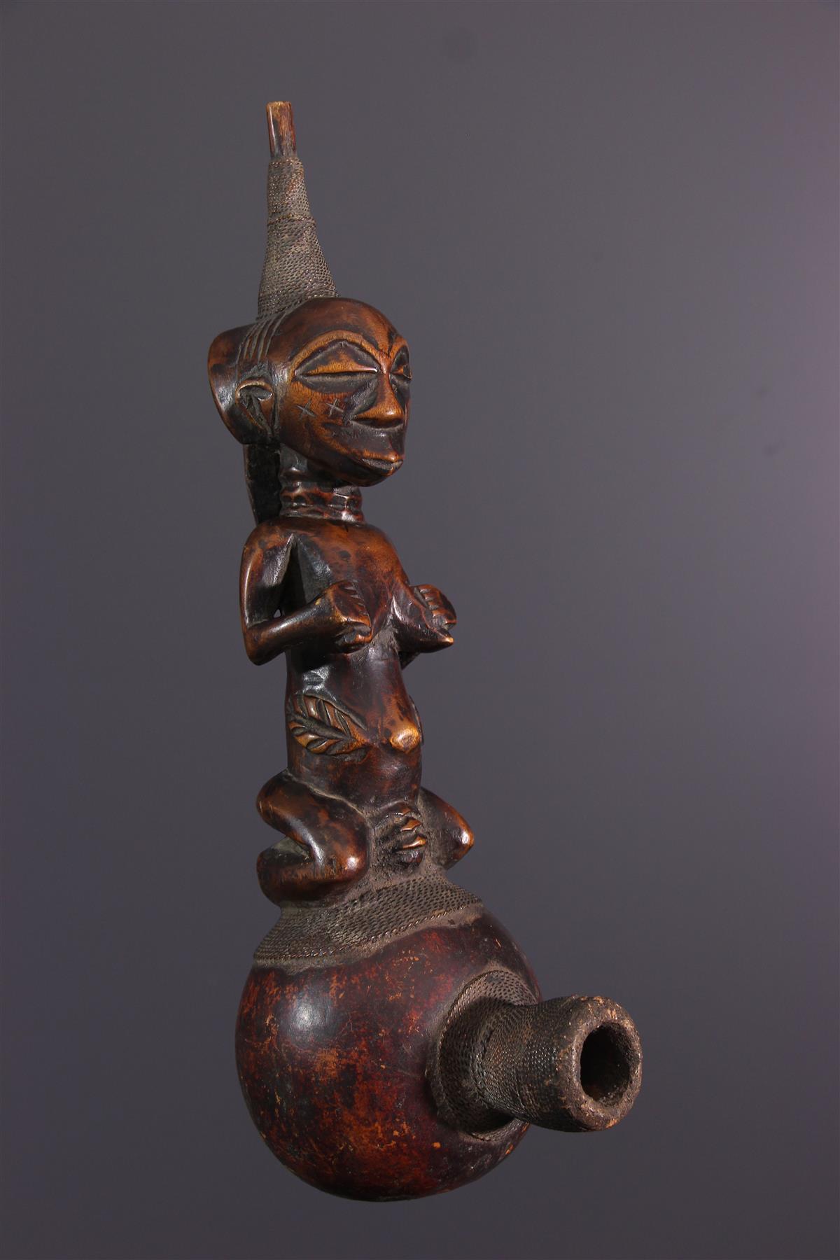 Pipe Luba - Tribal art