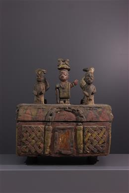 Yoruba offering box