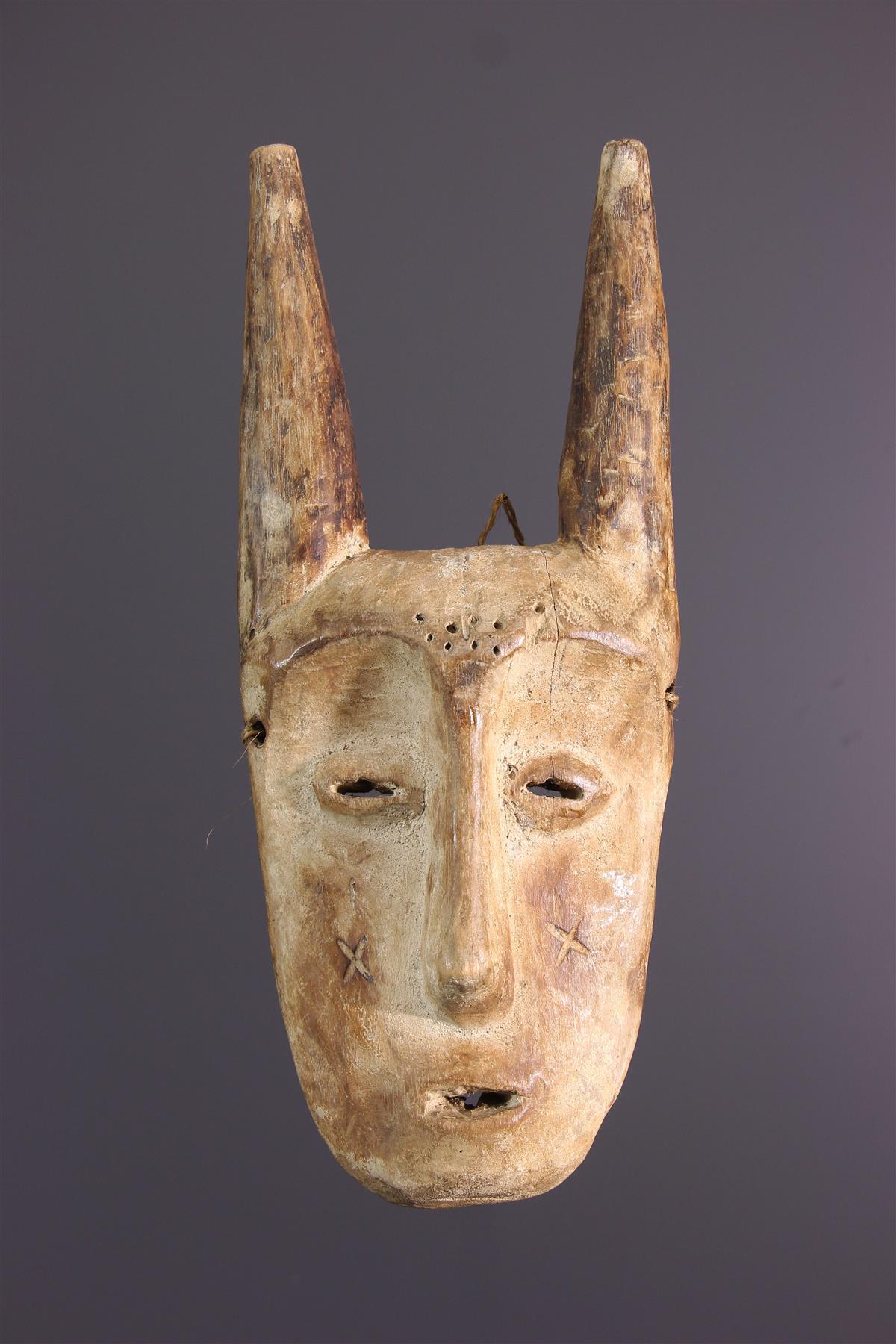 Masque League - Tribal art