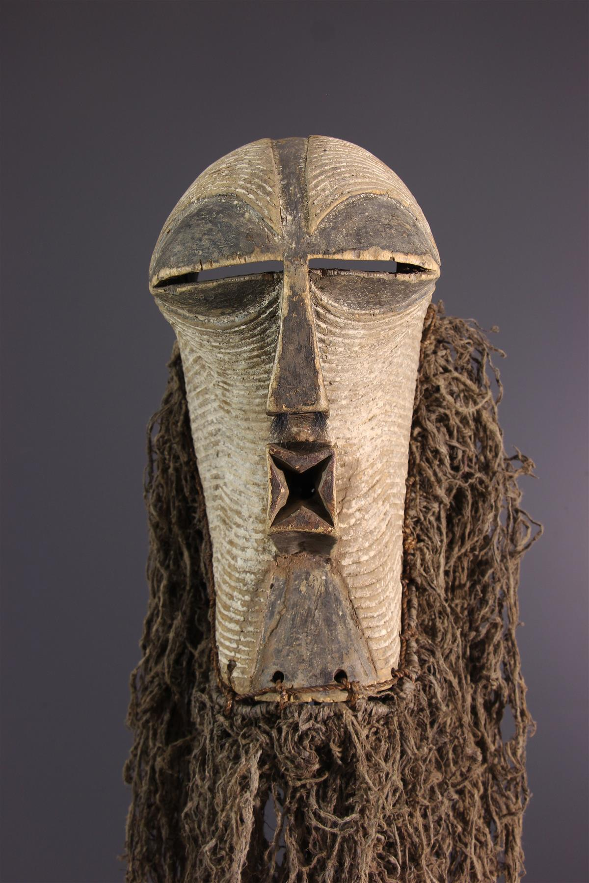Kifwebe Mask - Tribal art