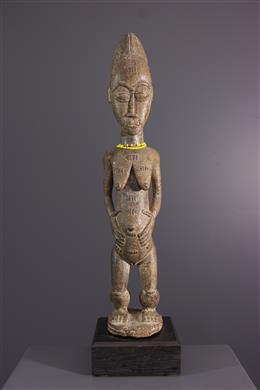 Tribal art - Statue Waka Sona of Baule