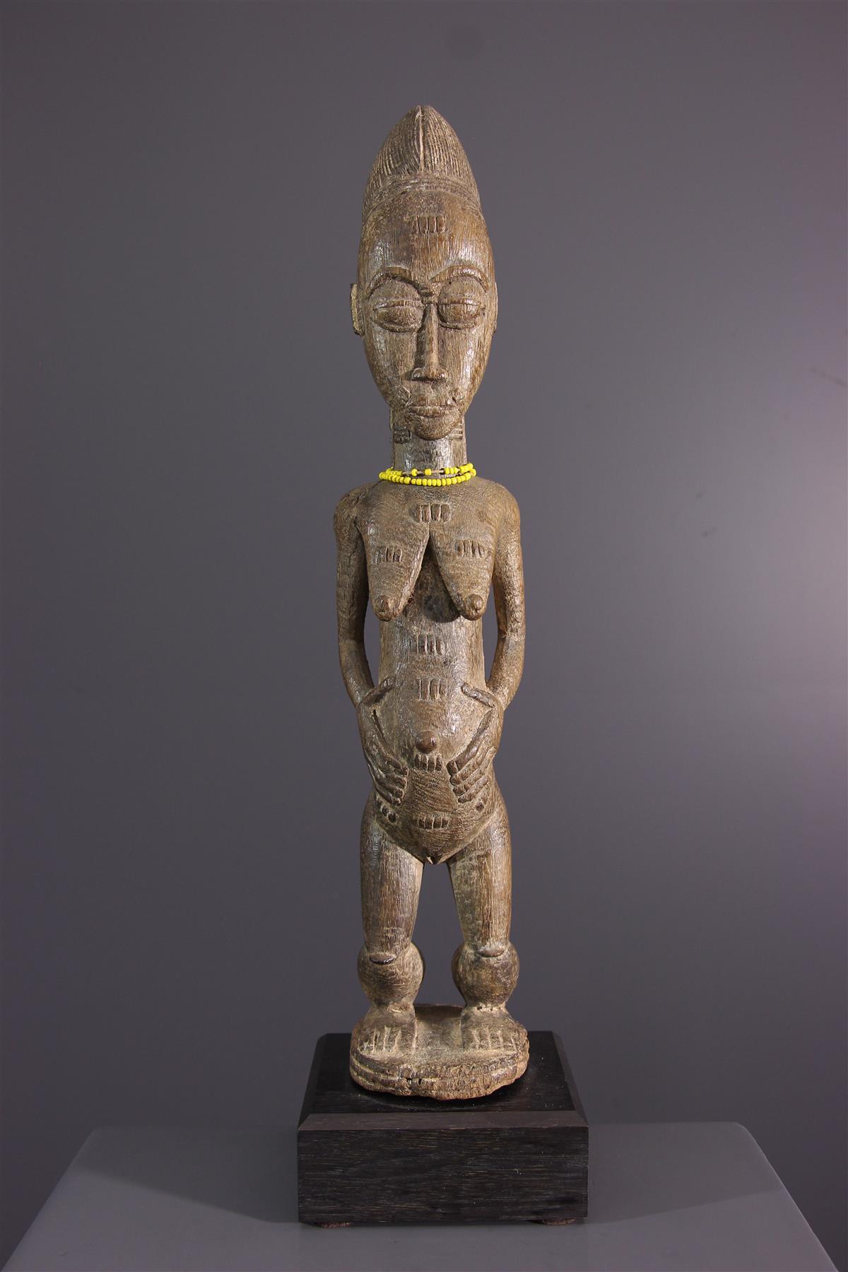 Statue Baoule - Tribal art