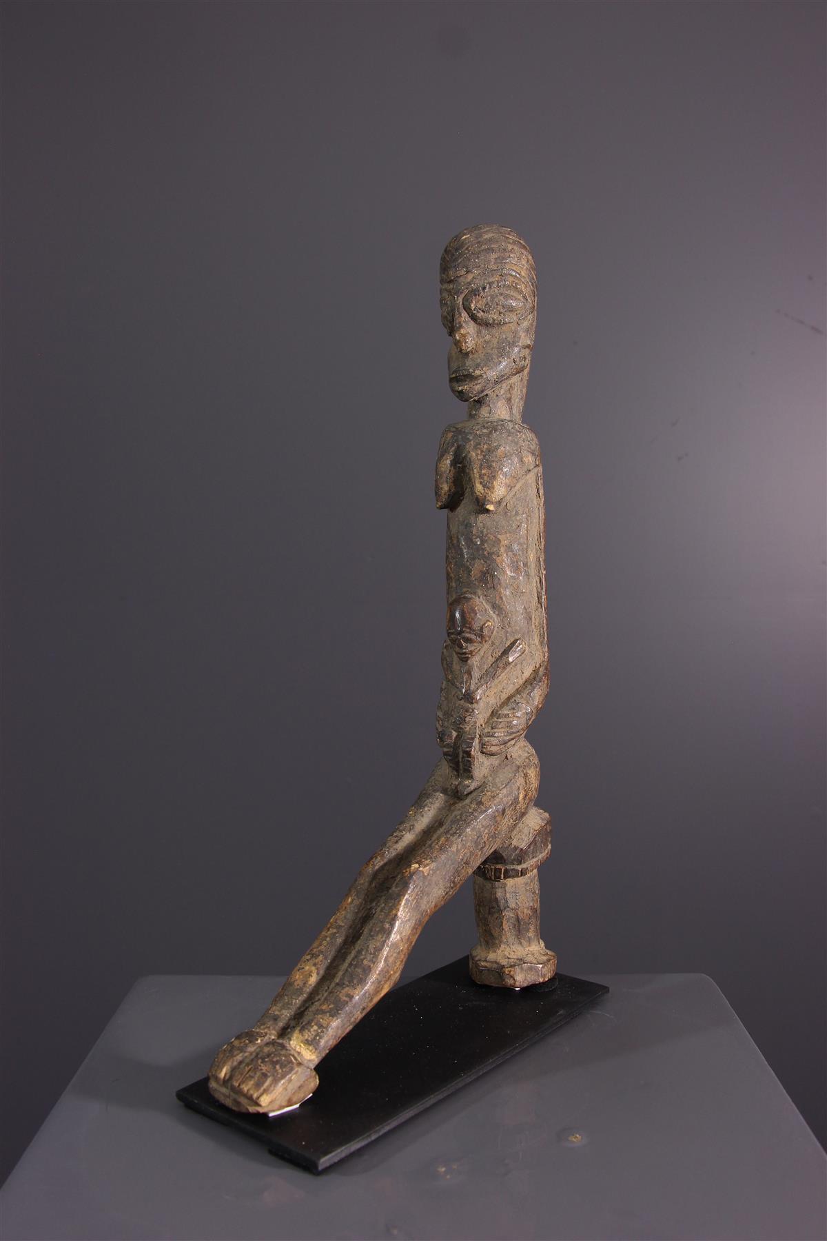 Lobi Maternity - Tribal art