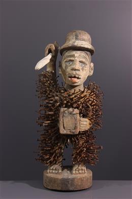 Solongo Kongo fetish statue