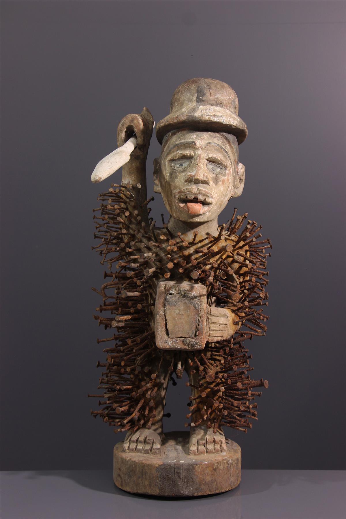 Solongo Fetish - Tribal art