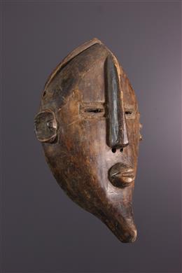 Tribal art - Nkaki Lwalwa Mask