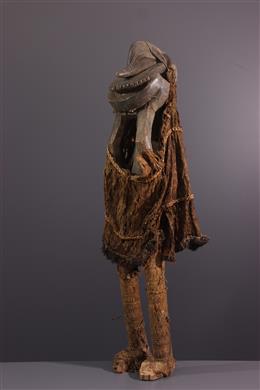Tribal art - Figure de danseur Hemba Soko muntu