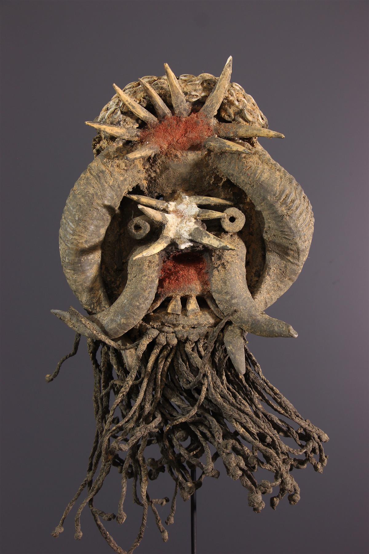 Guéré mask - Tribal art