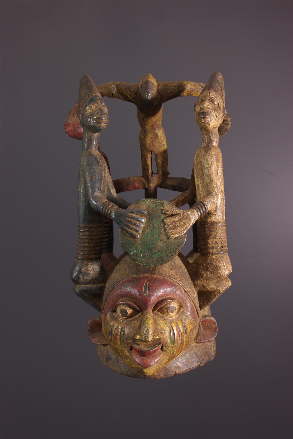 Masque Gelede - Tribal art