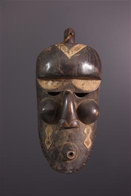 Tribal art - Large mask Tshibangabanga Binji