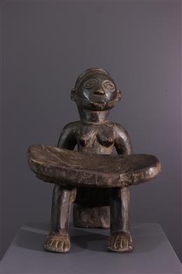 Caryatid stool Tabwa